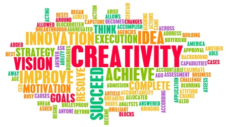 Creativity and Inspiration as a Art Concept Stock Photo - 21162794
