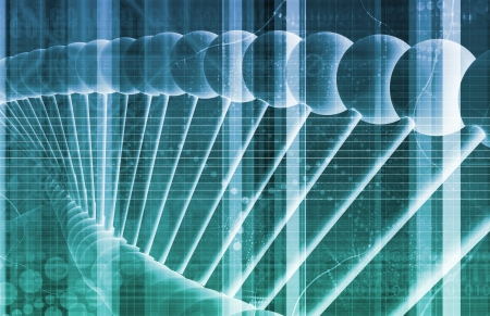Business Genetics and DNA Research as a Concept Stock Photo - 21218481