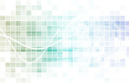 Digitale Kommunikation ?ber das Internet mit Daten
