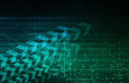 Digital Security Industry through Online Data Art Stock Photo - 21276968