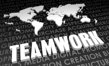 teaming up: Teamwork Industry Global Standard on 3D Map