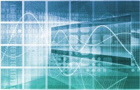 Technologies de l'information ou IT Infotech comme un art Banque d'images - 21277028