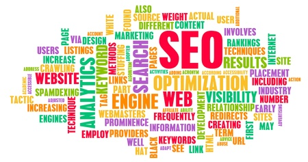 SEO or Search Engine Optimization For Website photo