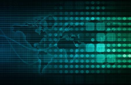 Data Processing als System und Wirtschaftsinformatik Lizenzfreie Bilder