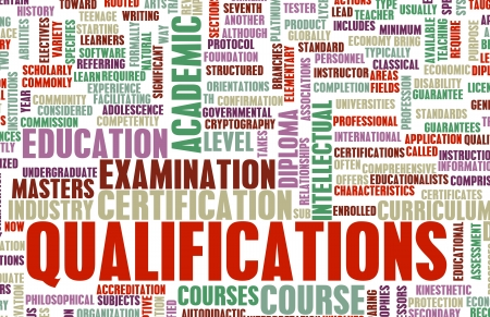 credentials: Qualifications in Business and Education as Art