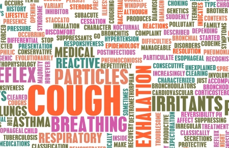 Coughing Concept as a Common Cough Problem photo