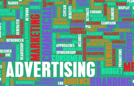 Advertising Strategy and Budget as a Concept Stock Photo - 21434874