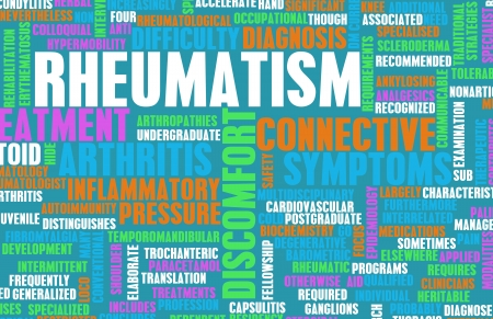Rheumatism as a Medical Condition in Concept photo