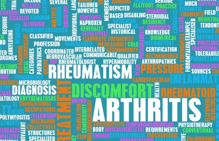 Arthritis as a Medical Condition in Concept photo