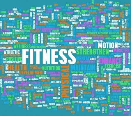 Concepto de la aptitud para la pérdida de peso y salud
