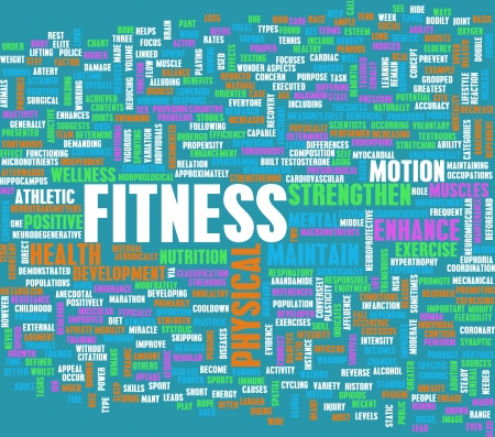 cardiovascular exercising: Fitness Concept for Weight Loss and Health Stock Photo