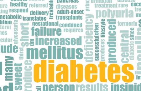 Diabetes as a Medical Illness Condition Concept Stock Photo