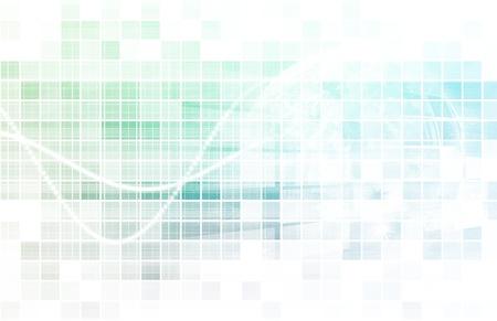 digital distribution: Multimedia Technology Background as a Art Concept