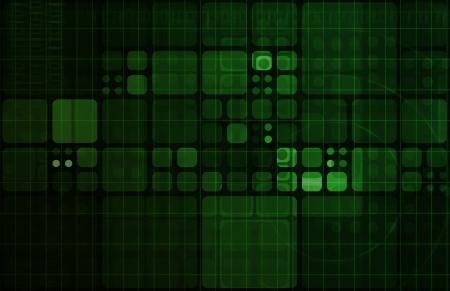概念としてセキュリティ ネットワーク データ モニター