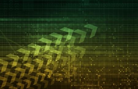 Digital Security Industry through Online Data Art Stock Photo - 22017983