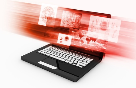Futuristic Technology as a Concept Background Art Stock Photo