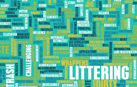 Littering and Pollution as a Social Problem Stock Photo - 22270722