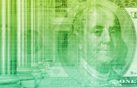 Investeringen in financiële rendement als een abstract