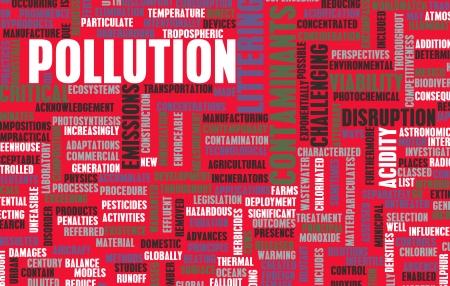 botar basura: La contaminaci?n y los desperdicios problema mundial como arte Foto de archivo
