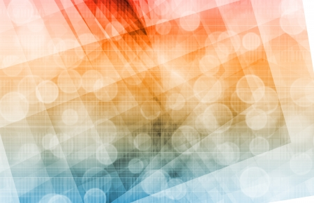 blurred lights: Party Background with a Creative Magical Abstract Stock Photo