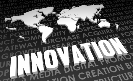 global innovation: Innovation Industry Global Standard on 3D Map