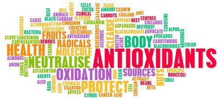 oxidative: Antioxidants Concept or Anti Oxidants or Antioxidant