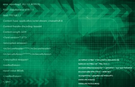 web application: Web Database System Application in 3d Contesto Archivio Fotografico