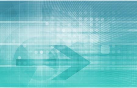 Digital Identity Management as New Technology Art Stock Photo - 22802020