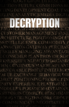 decrypt: Decryption in Business as Motivation in Stone Wall