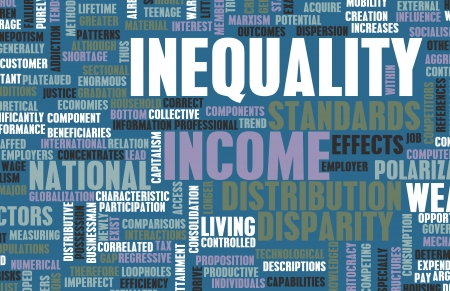 disparity: Income Inequality and Wealth Distribution as Art