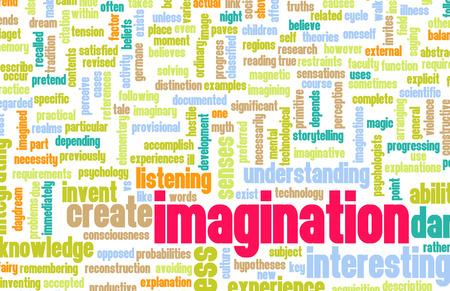 osare: L'immaginazione e il coraggio di immaginare come concetto Archivio Fotografico