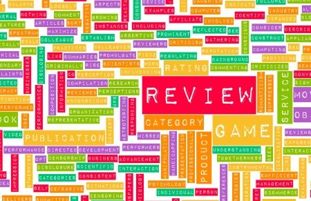 critique: Game Review Word Cloud as a Concept
