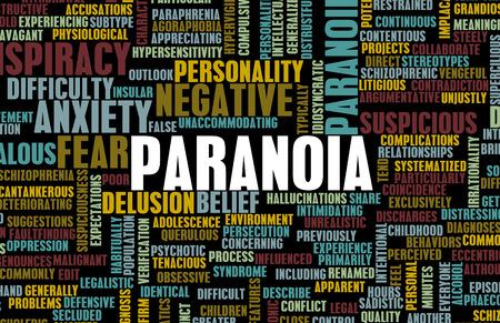 suspenso: La ansiedad mental Paranoid Paranoid y como concepto