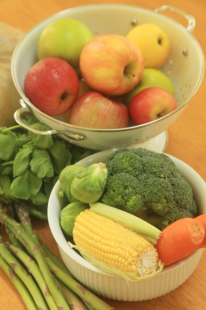 garden fresh: Garden Fresh Foods and Vegetables Grown and Ripe