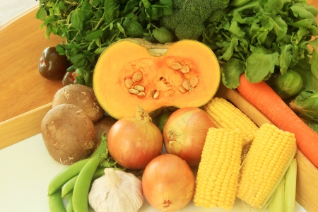 non: Fresh Vegetables Healthy Grown Organic in Style