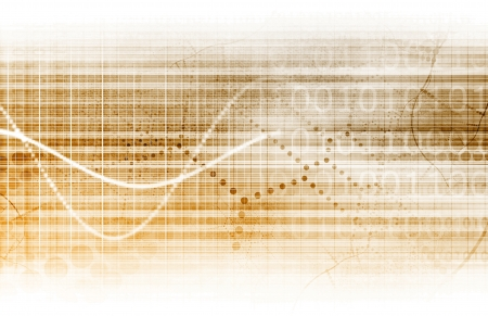 Digital Security Industry through Online Data Art Stock Photo - 23733579