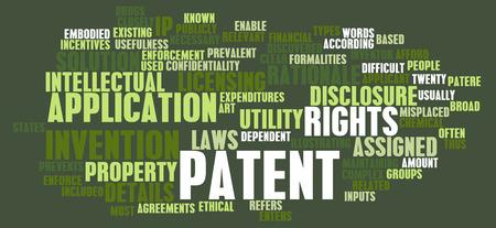 Patent Application as a Intellectual Property Art photo