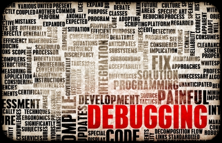 debug: Debugging or Debug Software Code and Logic