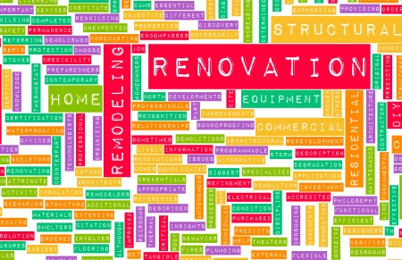 Renovation or Remodeling Your Home DIY as Concept photo