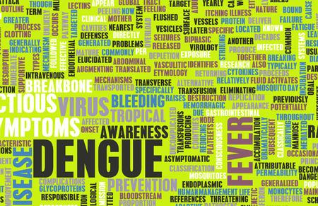 Dengue Fever Concept as a Medical Disease Art photo