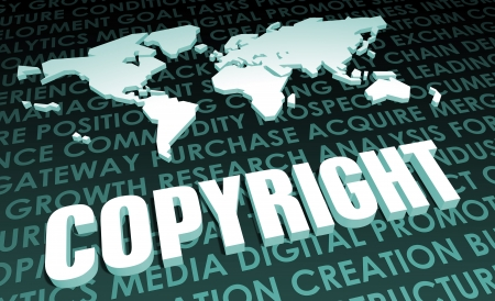 copyrights: Copyright Industry Global Standard on 3D Map