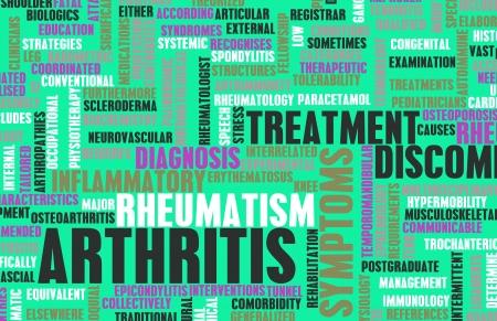 septic: Arthritis as a Medical Condition in Concept Stock Photo