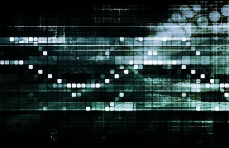 Business-Technologie-Konzept auf Weltweit Berichtsansicht Lizenzfreie Bilder