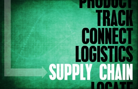 Supply Chain Core Principles as a Concept Abstract photo