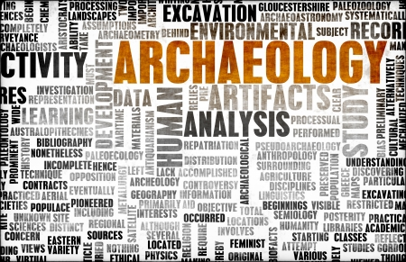 archaeologist: Archaeology Dig and Fun Exploration as Concept