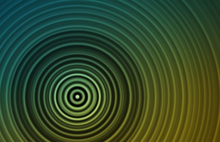 concentric: Concentric Circles as a Retro Texture Background