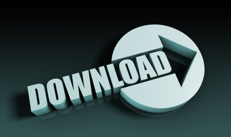 Download Concept With an Arrow Going Upwards 3D photo