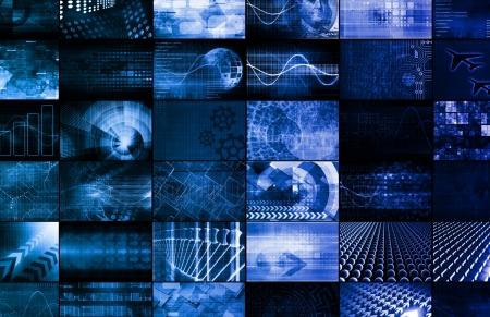 Technologies émergentes dans le monde entier comme Art Banque d'images - 25173561