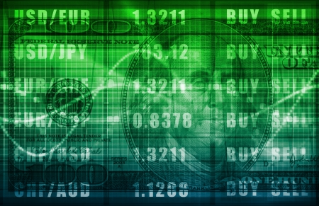 Foreign Exchange Online Buy Sell Screen Art photo