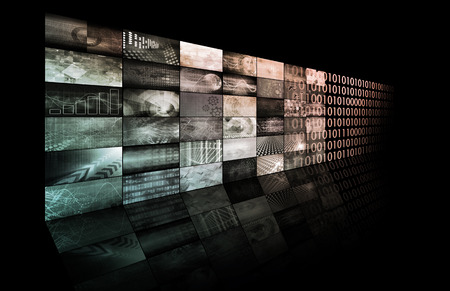 resale: Web Technologies and Profit Through Online as Art Stock Photo